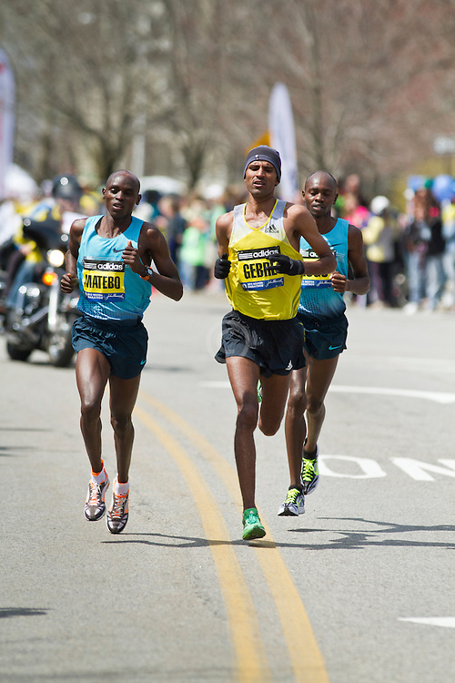2013 Boston Marathon: Geber Gebremariam