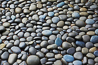 Stones in Portland Japanese Garden, Portland, Oregon