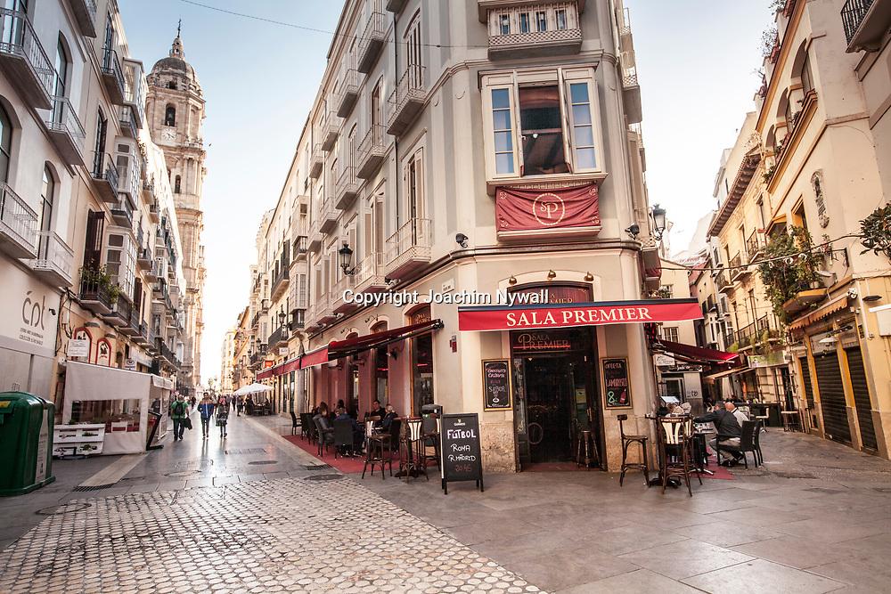2016 02 17 Malaga Andalusien Spanien<br /> Restauranger i centrala Malaga<br /> <br /> ----<br /> FOTO : JOACHIM NYWALL KOD 0708840825_1<br /> COPYRIGHT JOACHIM NYWALL<br /> <br /> ***BETALBILD***<br /> Redovisas till <br /> NYWALL MEDIA AB<br /> Strandgatan 30<br /> 461 31 Trollh&auml;ttan<br /> Prislista enl BLF , om inget annat avtalas.