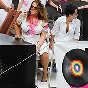 NLD/Amsterdam/20080802 - Canal Parade 2008 Amsterdam, Tessa Koops