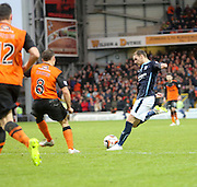 Martin Boyle fires in a  shot - Dundee United v Dundee, SPFL Premiership at Tannadice<br /> <br />  - &copy; David Young - www.davidyoungphoto.co.uk - email: davidyoungphoto@gmail.com