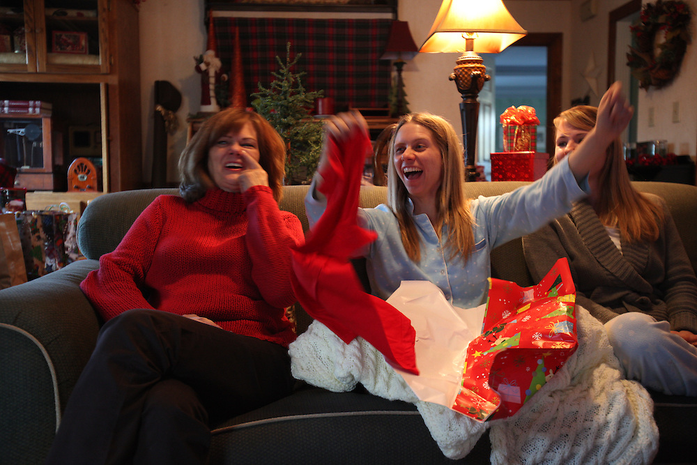 Christmas morning with the Komis', Sunday, Dec. 25, 2011 at Komis Kastle in Crestwood.