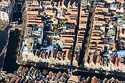 Nederland, Noord-Holland, Alkmaar, 28-10-2016; centrum van Alkmaar, met de grachten Luttik Oudorp, Zijdam en Voordam. Kooltuin.<br /> Alkmaar historical city centre.<br /> luchtfoto (toeslag op standard tarieven);<br /> aerial photo (additional fee required);<br /> copyright foto/photo Siebe Swart
