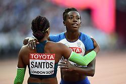 Desiree Henry of Great Britain looks on - Mandatory byline: Patrick Khachfe/JMP - 07966 386802 - 06/08/2017 - ATHLETICS - London Stadium - London, England - Women's 100m Semi Final - IAAF World Championships