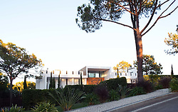 Footballer Steven Gerrard's holiday home at Quinta do Lago, The Algarve, Portugal - 20 Rua Lima photographed in August 2014.