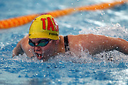 Mary Fisher, womens 50m butterfly, New Zealand Short Course Swimming Championships, Sir Owen G. Glenn National Aquatic Centre, AUT Millennium, Auckland. 11 August 2015. Copyright Photo: William Booth / www.photosport.nz