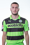 Forest Green Rovers Alexander Lacovitti(20) during the Forest Green Rovers Photocall at the New Lawn, Forest Green, United Kingdom on 31 July 2017. Photo by Shane Healey.