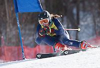 FIS NJR Ladies GS Sunapee February 10, 2011.