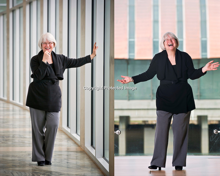 Editorial photography of Sandy Edwards, director of museum relations for Crystal Bridges Museum of American Art.
