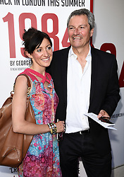 Anna Phoebe & Gavin Esler attend 1984 Play press night at The Playhouse, Norththumberland Avenue, London on Thursday 18 June 2015