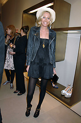 The HON.SOPHIA HESKETH at a party at shoe store Sergio Rossi, 207 Sloane Street, London on 4th April 2007.<br />