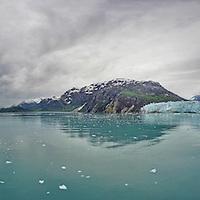 Glacier Bay Panorama from deck of Noordam