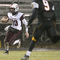 New Albany quarterback Loden Bolen rushes the ball during Friday night's game at Ripley.