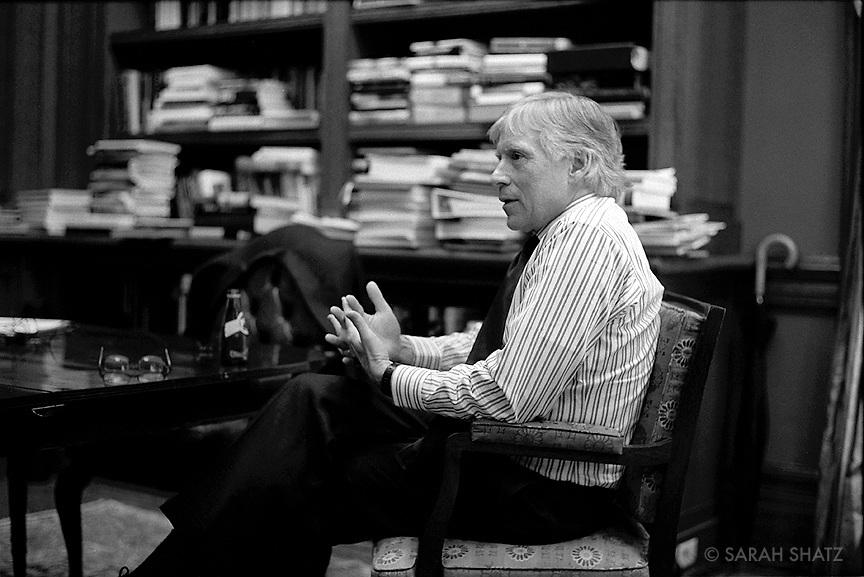 Lee Bollinger, President of Columbia University