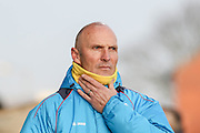 Southport FC Manager Steve Burr during the Vanarama National League match between Southport and Eastleigh at the Merseyrail Community Stadium, Southport, United Kingdom on 17 December 2016. Photo by Pete Burns.