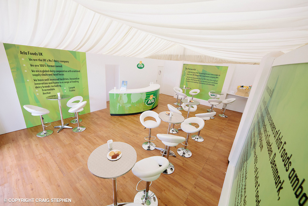 Royal Highland Show 2013. Access Displays - Arla UK
