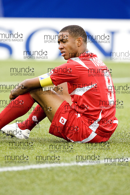 30 June 2007 (Ottawa) -- People's Republic of Korea (PRK) versus Panama (PAN) group stage game in the FIFA U-20 World Cup Canada 2007...Gabriel Torres of Panama after the game against North Korea...Photo credit Sean Burges/Mundo Sport Images.