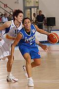 DESCRIZIONE : Ortona Italy Italia Eurobasket Women 2007 Serbia Italia Serbia Italy <br /> GIOCATORE : Valeria Zanoli<br /> SQUADRA : Nazionale Italia Donne Femminile EVENTO : Eurobasket Women 2007 Campionati Europei Donne 2007 <br /> GARA : Serbia Italia Serbia Italy <br /> DATA : 01/10/2007 <br /> CATEGORIA : Penetrazione <br /> SPORT : Pallacanestro <br /> AUTORE : Agenzia Ciamillo-Castoria/S.Silvestri Galleria : Eurobasket Women 2007 <br /> Fotonotizia : Ortona Italy Italia Eurobasket Women 2007 Serbia Italia Serbia Italy <br /> Predefinita :