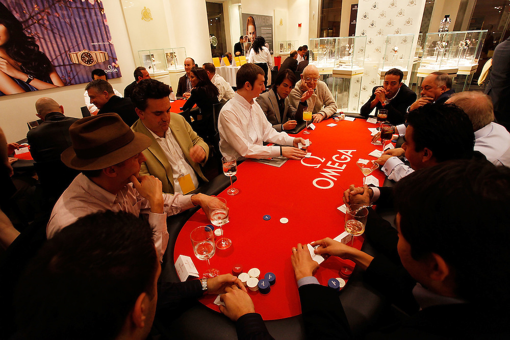 NEW YORK - NOVEMBER 17:  Atmosphere at the Texas Hold'em Tournament to Benefit SHOE4AFRICA presented by Tourbillon & OMEGA at Tourbillon Wall Street on November 17, 2009 in New York City.  (Photo by Joe Kohen/WireImage for OMEGA)