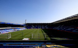 A general view of the St Andrew's Trillion Trophy Stadium before the Sky Bet Championship game between Birmingham City and Blackburn Rovers.