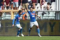 esultanza gol Simone Verdi Goal Celebration <br /> Torino 23-09-2018 Stadio Olimpico Grande Torino Football Calcio Serie A 2018/2019 Torino - Napoli Foto Image Sport / Insidefoto