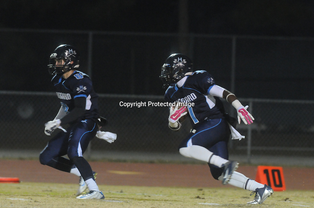 Hoggard hosted South Central High School in the first round of football playoffs Friday November 14, 2014. (Jason A. Frizzelle)