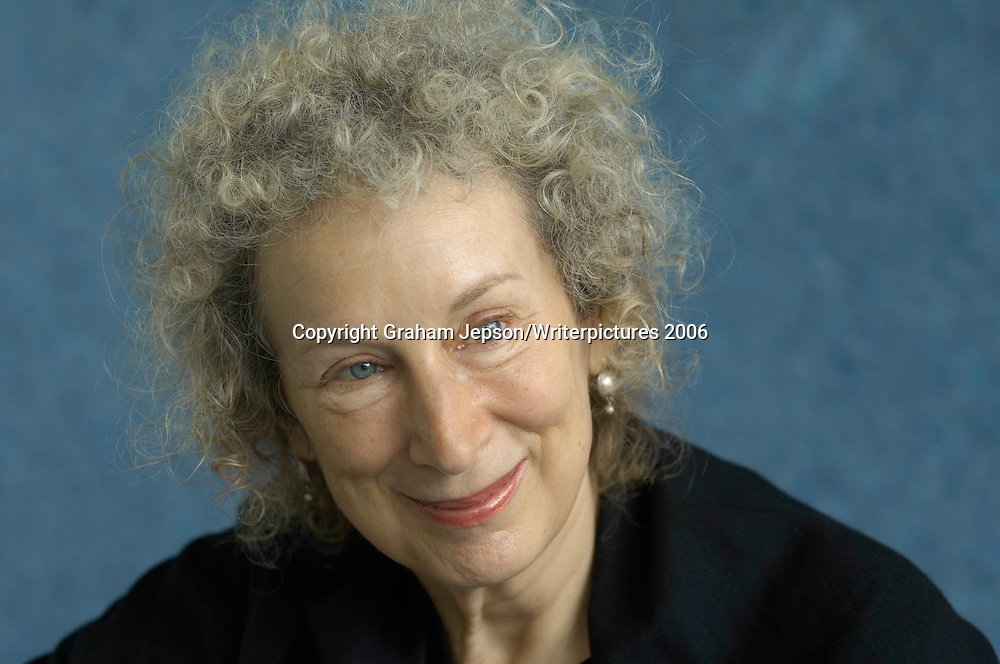 Canandian bestseller Margaret Atwood<br /> <br /> copyright Graham Jepson/Writer Pictures 2006<br /> contact +44 (0)20 822 41564<br /> sales@writerpictures.com<br /> www.writerpictures