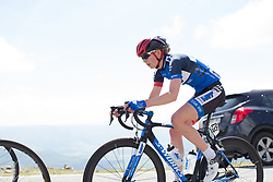 Natalie Grinczer (GBR) of Team WNT rides the final few hundred metres of Stage 4 the Emakumeen Bira - a 58 km road race, between Etxarri Aranatz and San Miguel on May 20, 2017, in Basque Country, Spain. (Photo by Balint Hamvas/Velofocus)