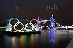 27.07.2012, Tower Bridge, London, GBR, Opening Ceremony, im Bild.Tower Bridge während der Eröffnung ..Foto © nph / Mueller