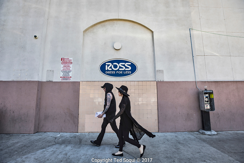 25 years after the LA92 riots, the former looted electronics store is now a Ross Dress For Less store. The Hollywood are has seen major redevelopment and rebounded after the 1992 riots.<br /> <br /> 25 before and after LA92 photo project.