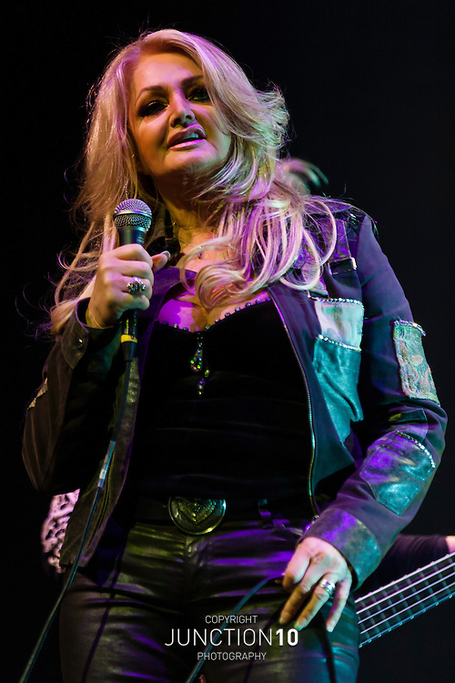 Bonnie Tyler supporting Status Quo at the LG Arena, Birmingham, United Kingdom.Picture Date: 17 December, 2012
