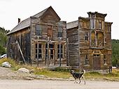 Montana: Elkhorn historic frontier buildings
