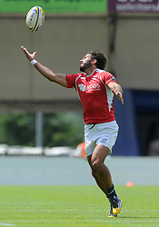 Goncalo Foro of Portugal - Photo mandatory by-line: Dougie Allward/JMP - Mobile: 07966 386802 - 11/07/2015 - SPORT - Rugby - Exeter - Sandy Park - European Grand Prix 7s