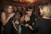Charlotte Dellal, Mary Fellowes and Sasha Forbes, Vogue 90th birthday party and to celebrate the Vogue List, Serpentine Gallery. London. 8 November 2006. ONE TIME USE ONLY - DO NOT ARCHIVE  © Copyright Photograph by Dafydd Jones 66 Stockwell Park Rd. London SW9 0DA Tel 020 7733 0108 www.dafjones.com