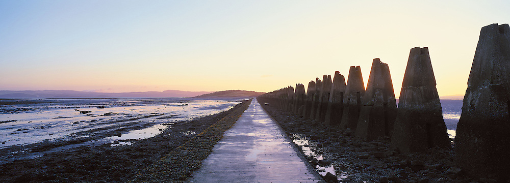 Cramond Island Causeway, Edinburgh, Scotland