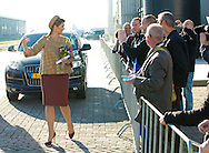 Westbeemster, 13-11-2014<br /> <br /> <br />  Queen Maxima visited the  Cono Cheese factory.<br /> <br /> <br /> <br /> <br /> Photo: Bernard Ruebsamen/Royalportraits Europe