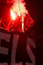 13.08.2011, UPC Arena, Graz, AUT, 1. FBL, SK Puntigamer Sturm Graz vs SK Rapid Wien, im Bild für manche Sturm Fans scheint das Pyrotechnikgesetz nicht zu gelten, EXPA Pictures © 2011, PhotoCredit: EXPA/ Erwin Scheriau