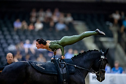 Bendixen Sheena, DEN, Klintholms Ramstein, Lunger Kristensen Lasse<br /> World Equestrian Games - Tryon 2018<br /> © Hippo Foto - Stefan Lafrenz<br /> 22/09/18