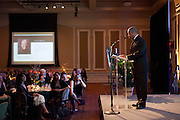 President Roderick McDavis at Ohio University Alumni Association's Annual Awards Gala at Baker University Center on October 11, 2013.