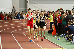 Boston University Terrier Invitational Indoor Track Meet: pacesetters Ross, Ulrey lead Galen Rupp, Oregon Project, to win Elite Mile 3:50.92