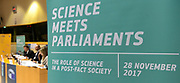 Science Meets Parlaiments. <br /> Conference on ' The role of science in post-fact society '