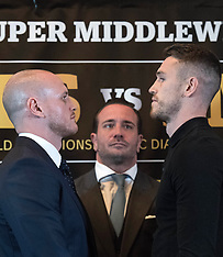 George Groves and Callum Smith Press Conference - Landmark London Hotel - 24 August 2018