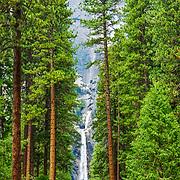 Yosemite Falls. Yosemite National Park. California, USA.