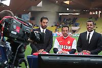 Robert PIRES / Ludovic GIULY / Sonny ANDERSON  - 22.04.2015 - Monaco / Juventus Turin - 1/4Finale retour Champions League<br />Photo : Serge Haouzi / Icon Sport