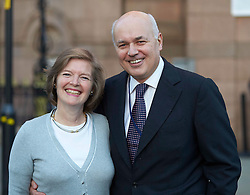 Iain Duncan Smith and his wife Betsy at the Conservative Party Conference, Manchester, United Kingdom. Sunday, 29th September 2013. Picture by i-Images