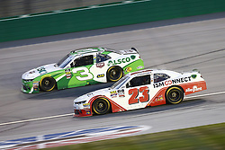 July 13, 2018 - Sparta, Kentucky, United States of America - Spencer Gallagher (23) and Ty Dillon (3) battle for position during the Alsco 300 at Kentucky Speedway in Sparta, Kentucky. (Credit Image: © Chris Owens Asp Inc/ASP via ZUMA Wire)