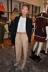 ROBERTA BENTELER at a lunch hosted by Alice Naylor-Leyland and Tamara Beckwith in celebration of the Coach 2015 collection held at Coach, New Bond Street, London on 18th September 2014.