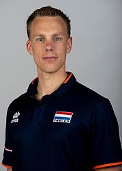 14-05-2018 NED: Team shoot Dutch volleyball team men, Arnhem<br /> Assistent coach Arne Hendriks