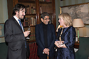 CHARLIE CAMPBELL; SONNY MEHTA; HON HANNAH ROTHSCHILD, Everyman 25th Anniversary party, Spencer House. St. James' Place. London. SW1. 26 October 2016