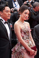 at the Closing ceremony and premiere of La Glace Et Le Ciel at the 68th Cannes Film Festival, Sunday 24th May 2015, Cannes, France.